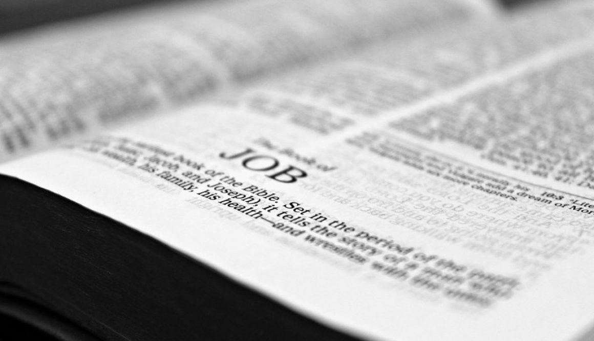 Book of Job Deep Diving Bible Study