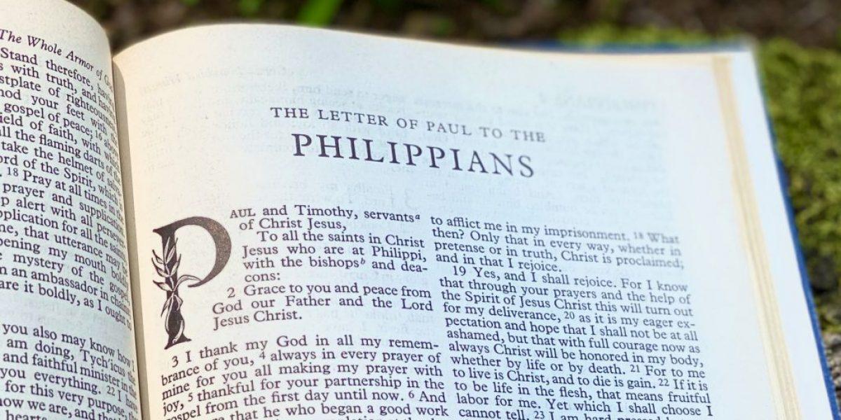 Philippians Deep Diving Bible Study
